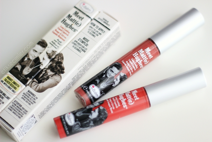 TheBalm Meet Matte Hughes Liquid lipstick - Committed Honest