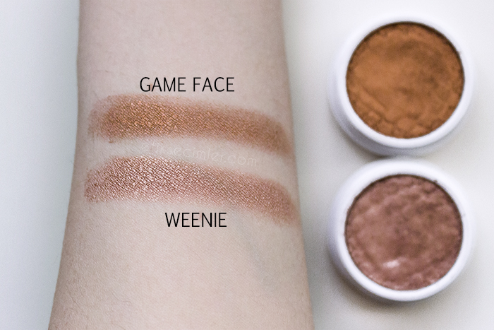 Colourpop Super Shock Shadow Göz Farı Weenie Game Face Swatch