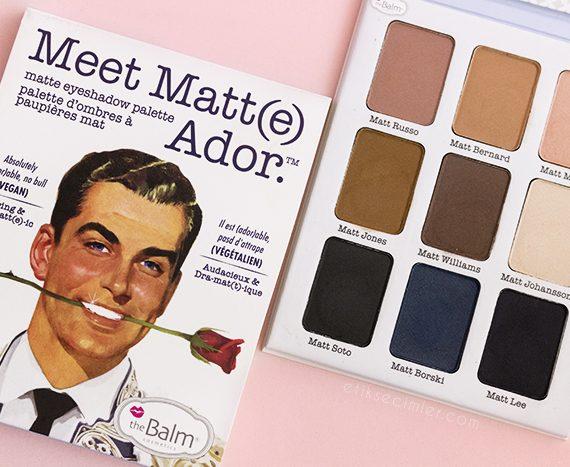 The Balm Meet Matte Ador Vegan Far Paleti