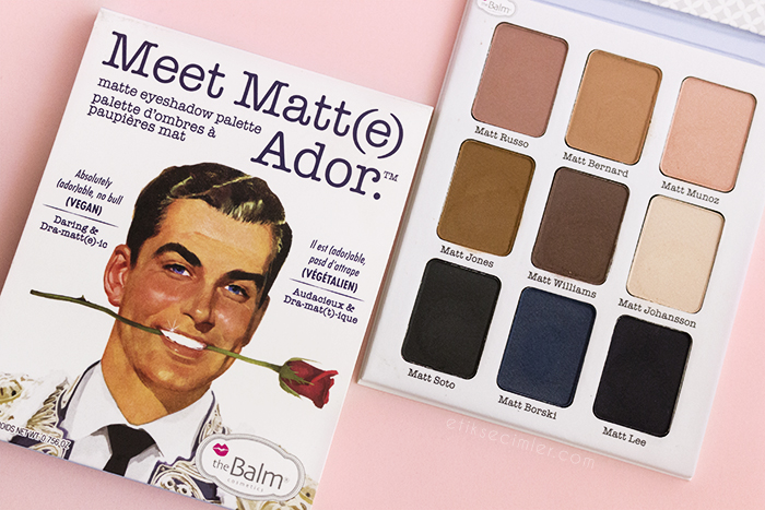 The Balm Meet Matte Ador Vegan Far Paleti