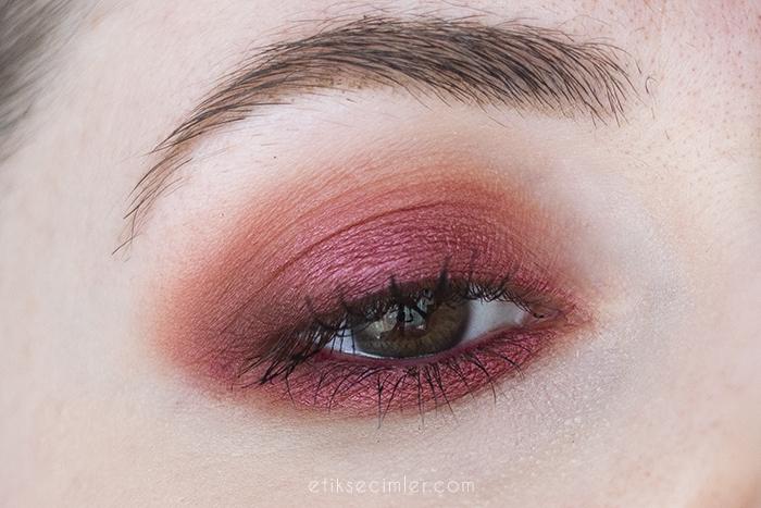 Zao Organic Makeup Göz Farı 115 ve 253 makyaj