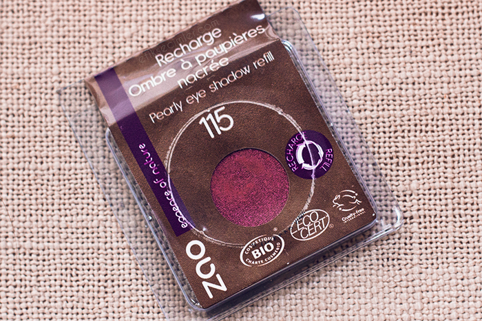 Zao Organic Makeup Göz Farı 115 yakut kırmızısı yedeği refill