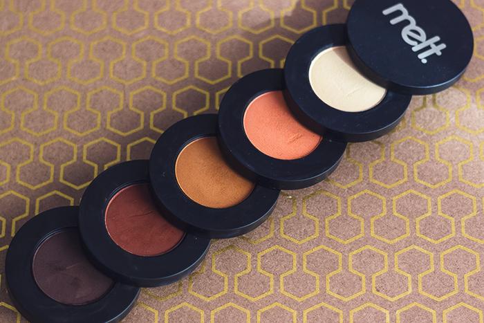 Melt Cosmetics Rust Paleti