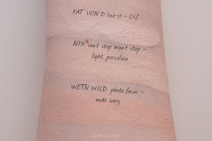NYX-Cant-Stop-Wont-Stop Fondöten-Light-Porcelain swatch