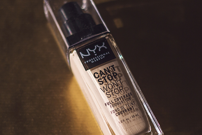 NYX Can't Stop Won't Stop Fondöten - Light Porcelain