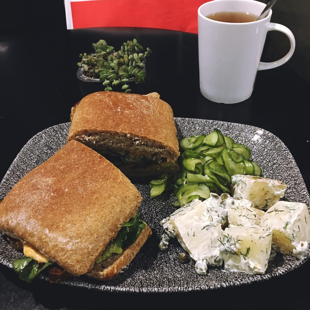 Bi Nevi Deli vegan sandviç