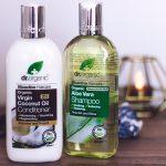 Dr. Organic Aloe Vera Şampuan ve Hindistan Cevizi Yağı Saç Kremi