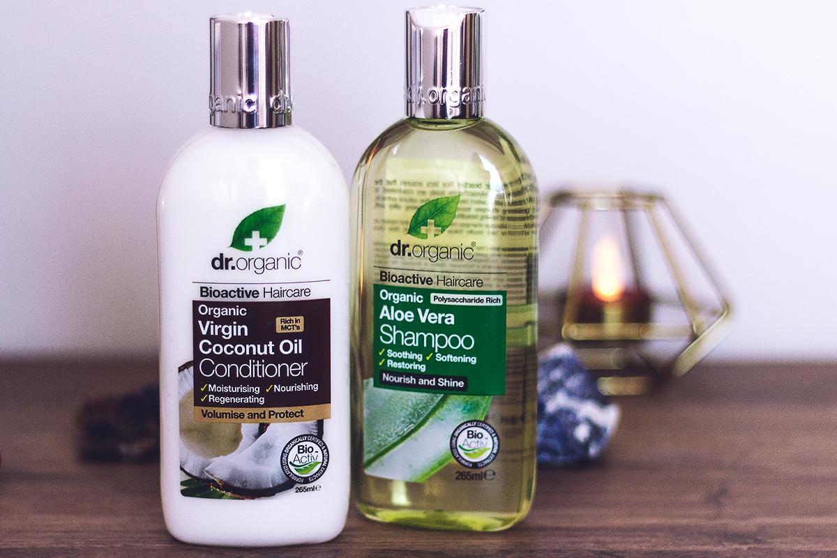 Dr Organic Aloe Vera Şampuan ve Hindistan Cevizi yağı saç kremi yorumları