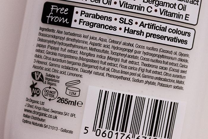 dr organik hindistan cevizi yağı saç kremi içerik