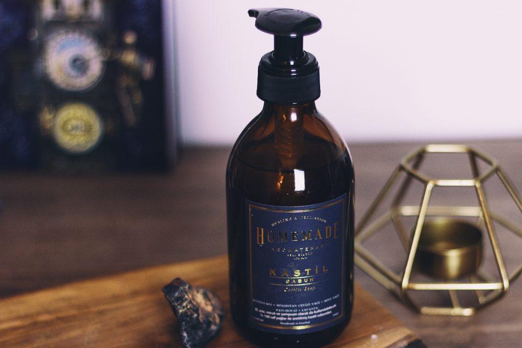 Homemade Aromaterapi Sıvı Kastil Sabun